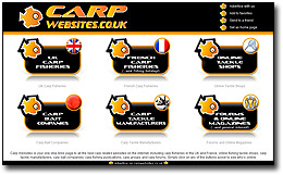 Carp Websites Home Page
