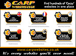 Our half page advert that you'll see in issues of Carpworld, Crafty Carper, Big Carp and Carp-Trade.